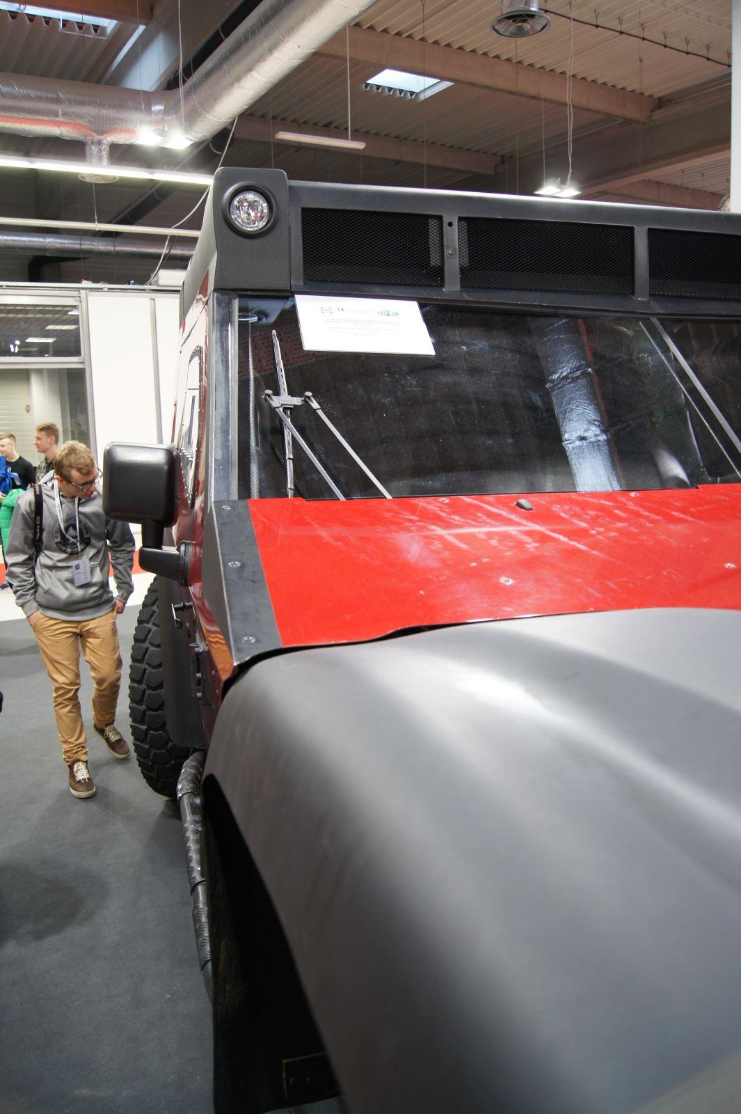 Warsaw Moto Show 2016 045 - Funter