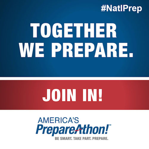 Don't Wait. Communicate. Make a family emergency plan today. September is National Preparedness Month. Learn more at www.ready.gov/September.