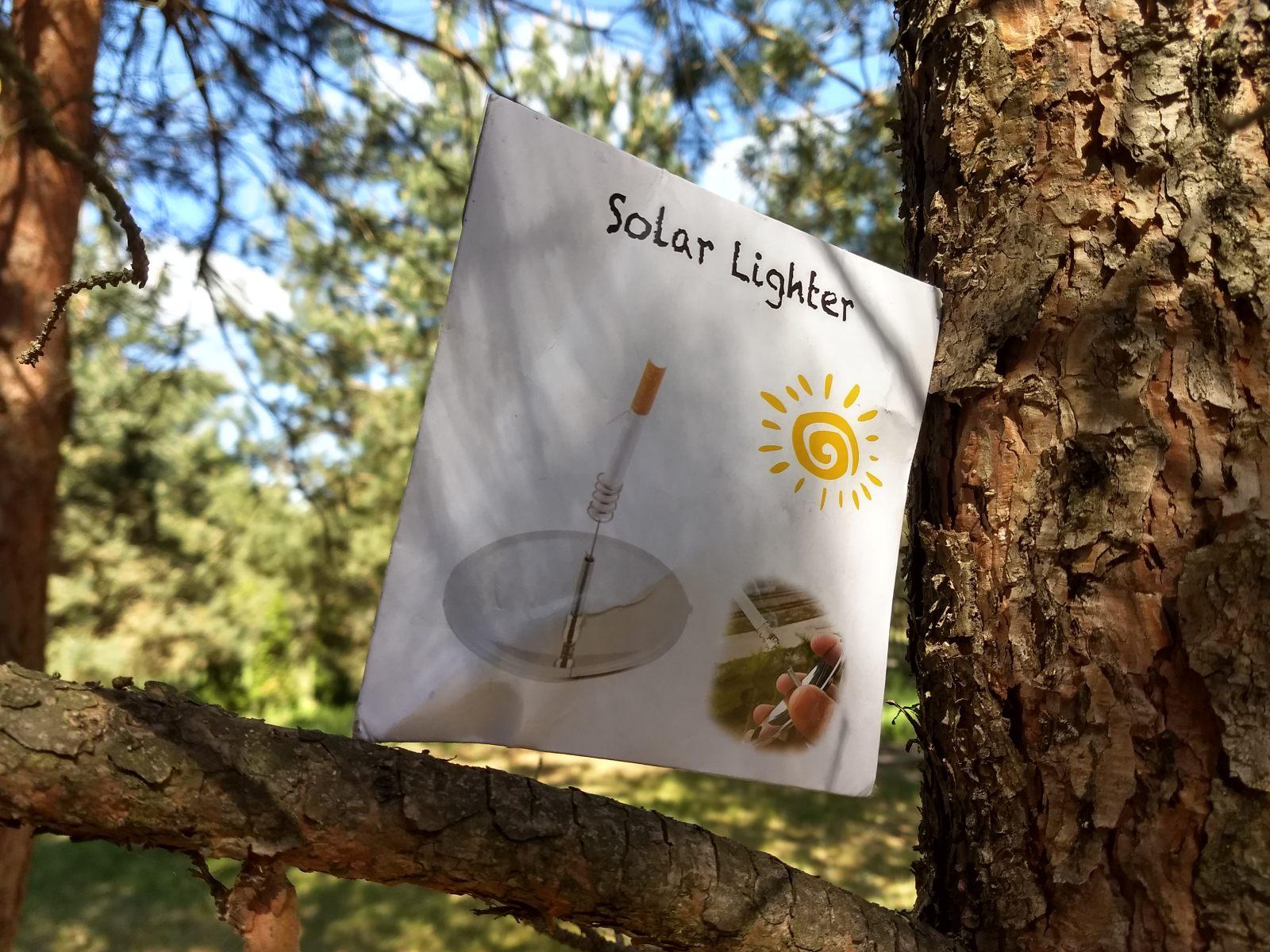 Zapalniczka solarna