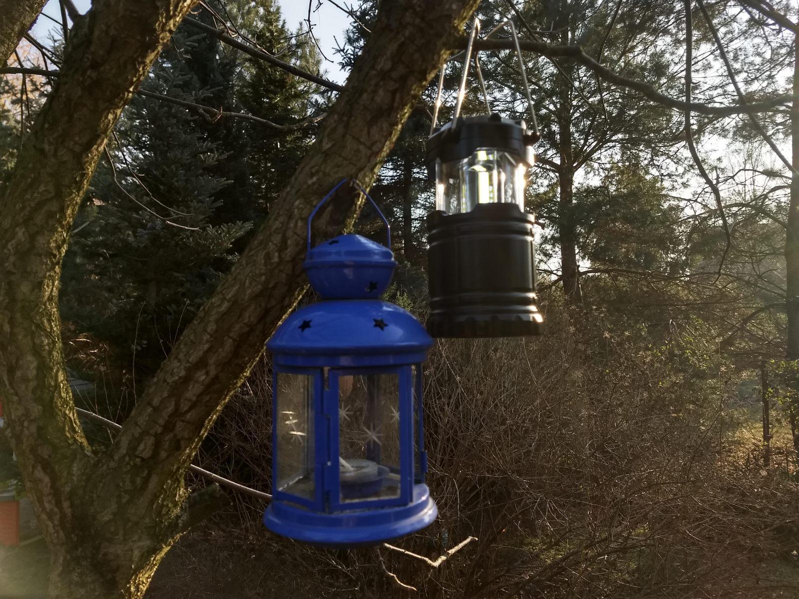 Lampka LED z Biedronki 3