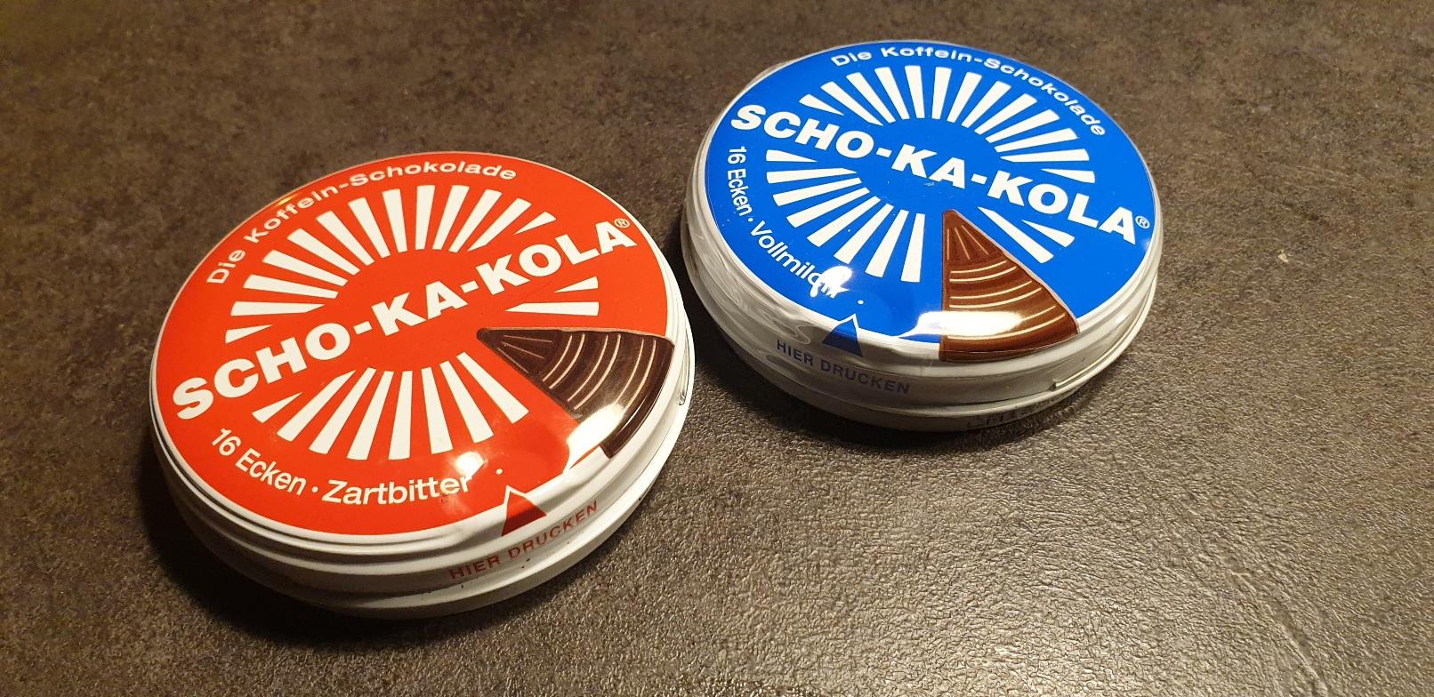 SCHO-KA-KOLA - wersja deserowa i mleczna